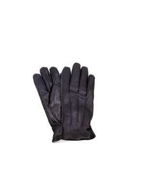 Suomalainen miesten lammasnappa-sormikas,lämpövanuvuori,musta