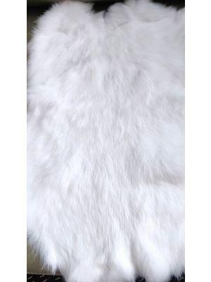 Kanin nahka, puhtaanvalkoinen