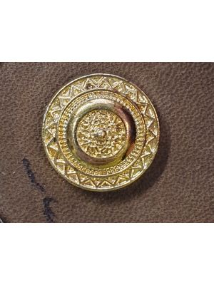 Metallinen nappi kullanvärinen 18mm-2