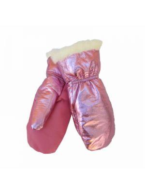 Lasten kintas,pinkki-kimalle, 50%merinovilla